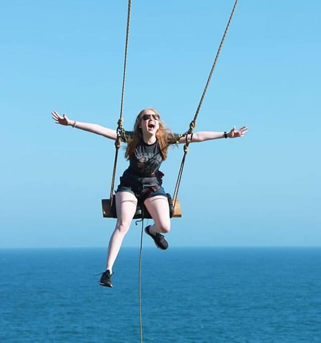 Jogja Swing di Pantai Nguluran